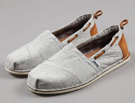 Toms Woolen Twill Shoes