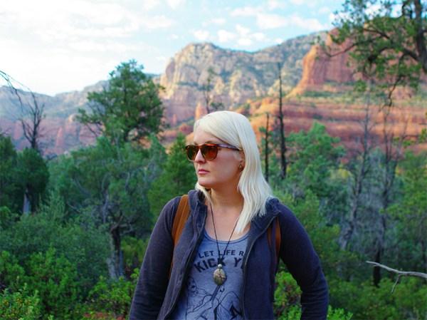 Evening hike in Sedona in my Nectar Sunglasses