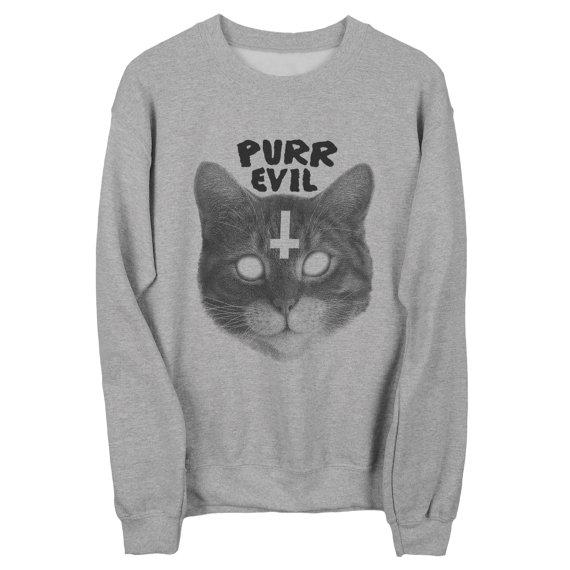 Purr Evil by PsychicTrashShop