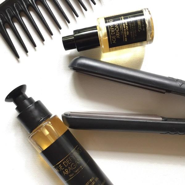 Travel necessity - hair iron
