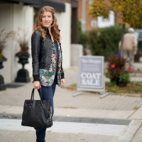 No. 307 Street Style Toronto - Colourful Vest