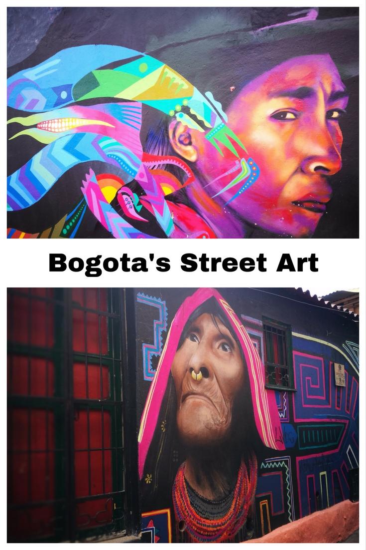 Street Art of Bogota Colombia