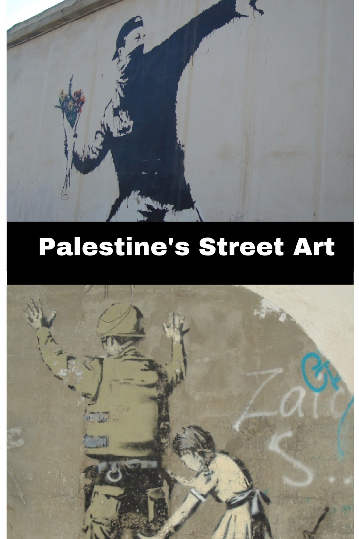 Street art of Bethlehem
