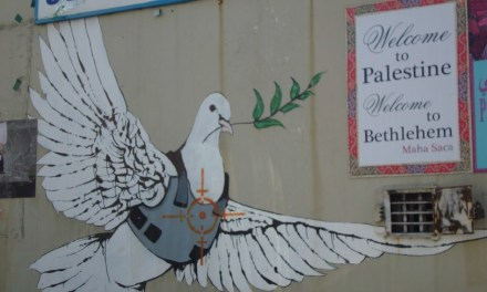 Pilgrimage to the Street Art of Bethlehem