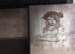 Portrait einer der Femen-Frauen