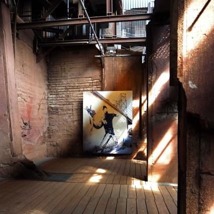 Foto von einer Banksy-Arbeit