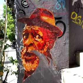 alter Mann mit Hut