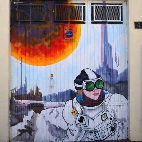 Eine Astronautin