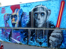 zwei Affen