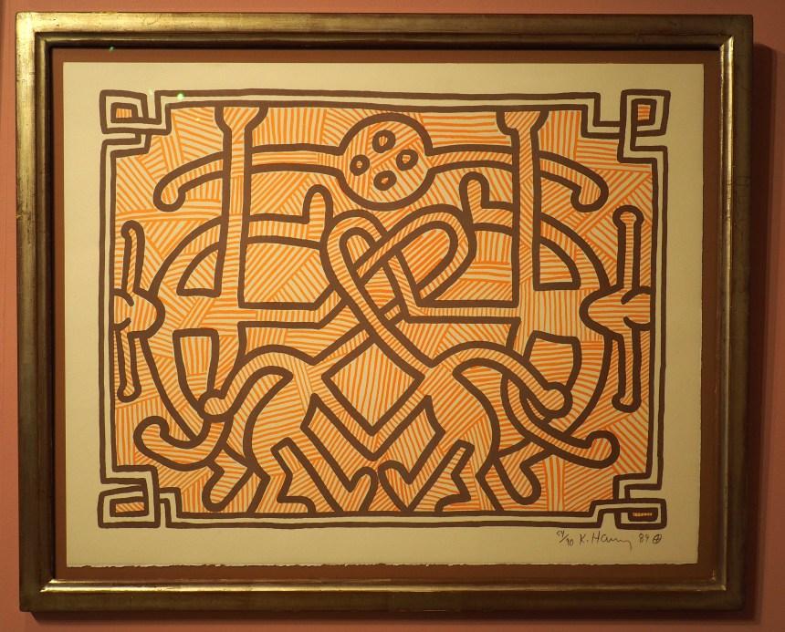 Bild von Keith Haring im Moca