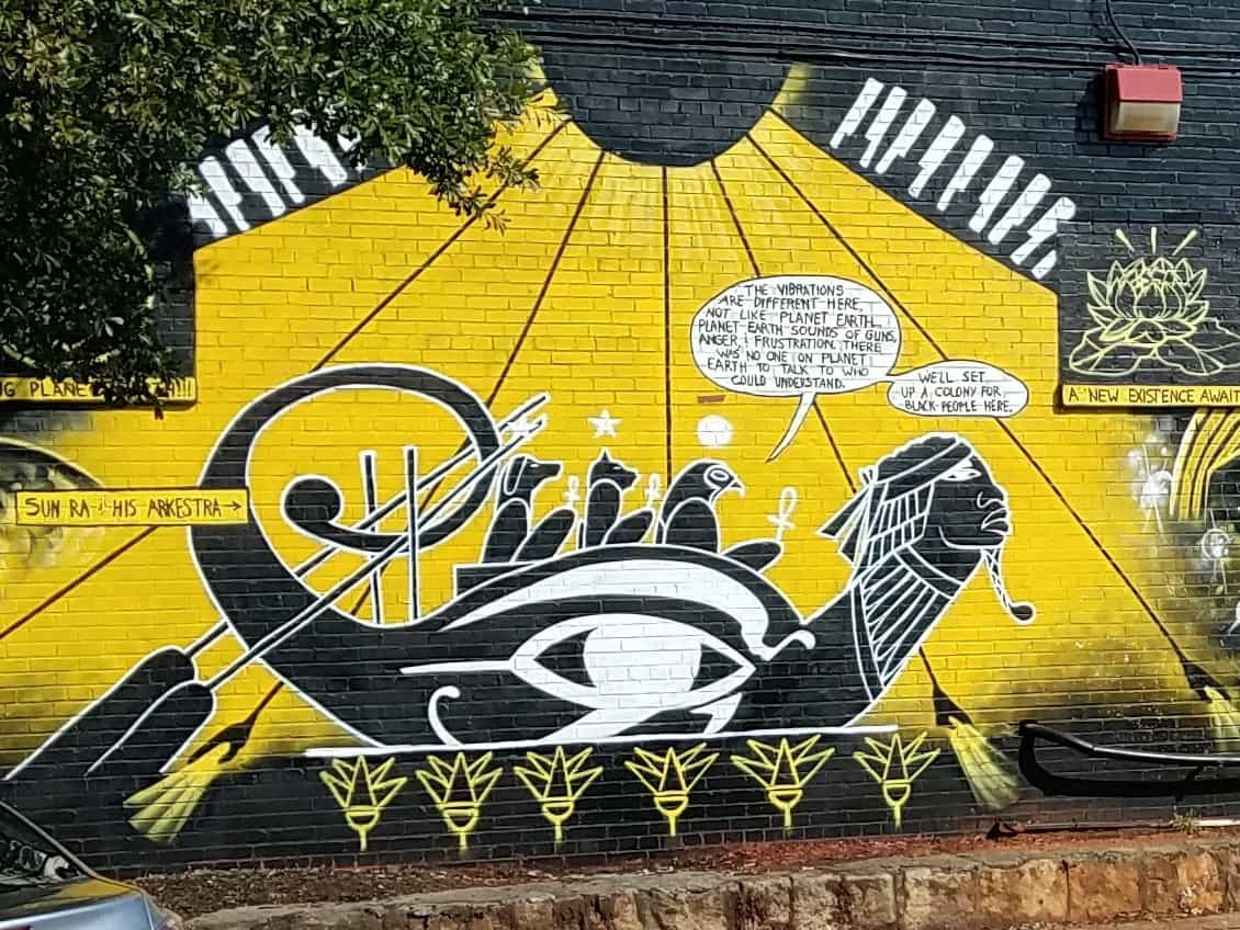 Street Art and Mural Map of East Atlanta: Take a self guided walking ...