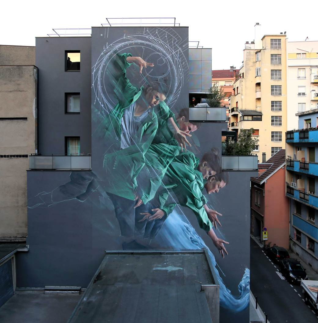 """Process of Acceleration"" by Li-Hill in Grenoble, France 1"