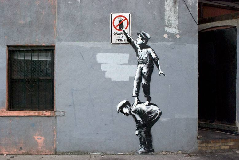 Banksy's residency on the streets of New York comes to an end.