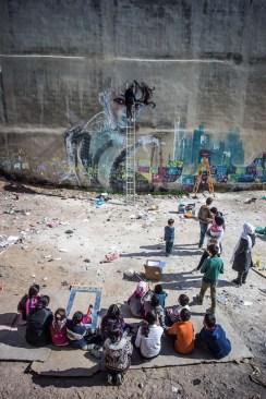 Herakut at Zaatari, Jordan 9