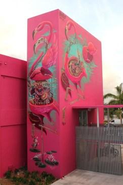 Anatomy of a Flamingo, Miami 2014