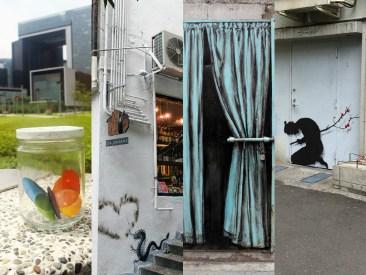 Pejac's Hong Kong, Seoul, and Tokyo interventions