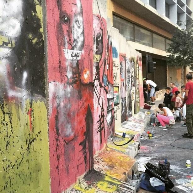 Beirut Wall2