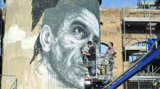 Frederico Draw's mural tribute to Pier Paolo Pasolini - Photo by Blocal_ Travel