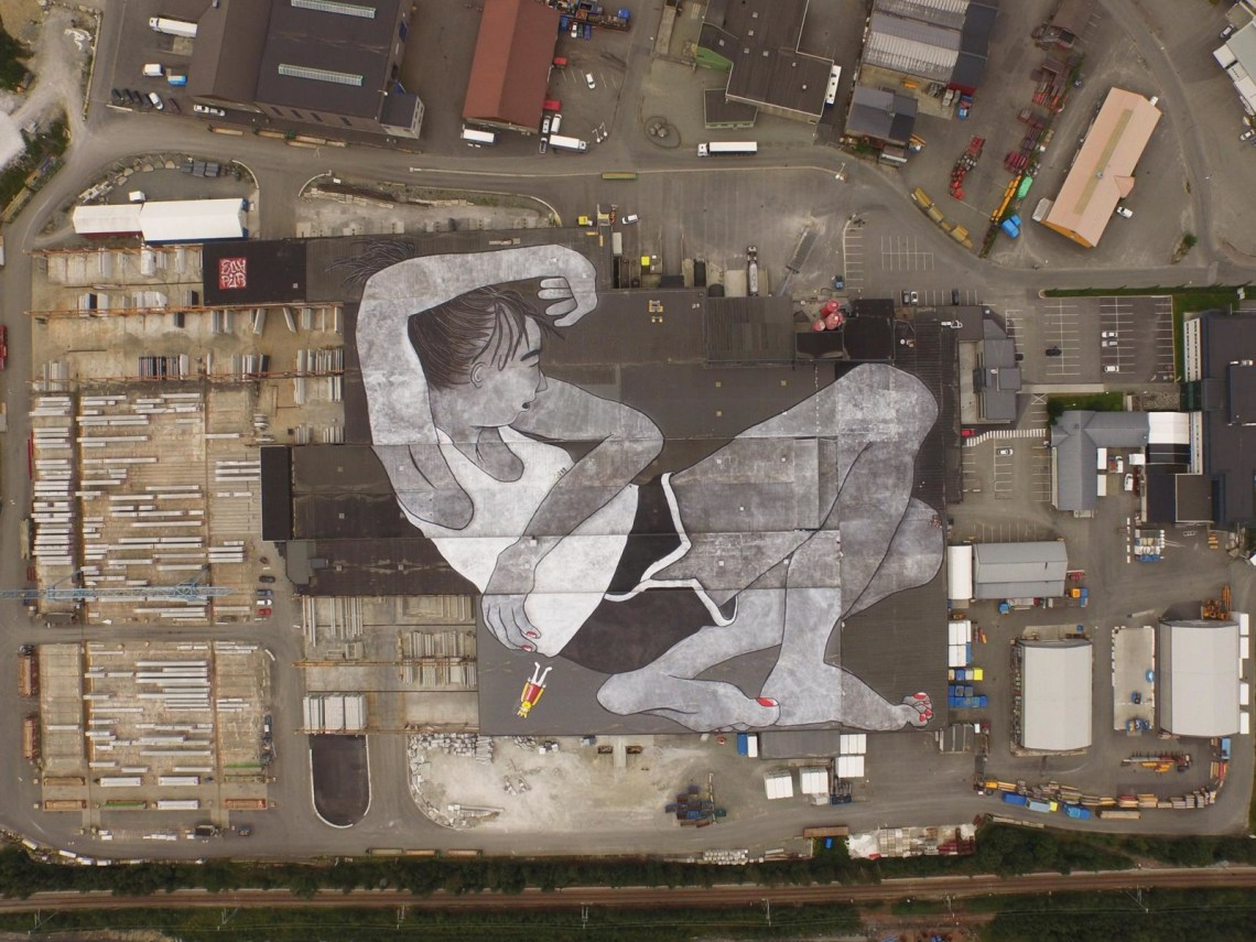 Lilith and Olaf at NUART in Stavanger, Norway