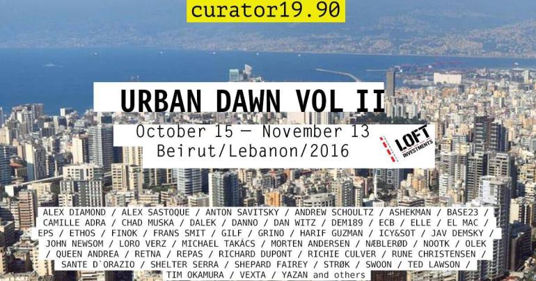 URBAN DAWN II to revive modern culture in Beirut