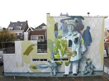 'Not as creepy as I seem' by TelmoMiel in Dordrecht, Holland