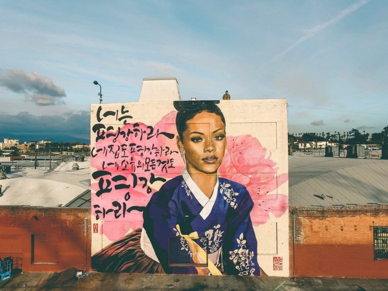 """""""Peace to you"""" by Royal Dog in LA"""