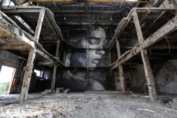 """The Alpha Project"" by RONE in Melbourne"