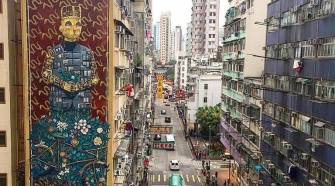 PixelPancho in Hong Kong