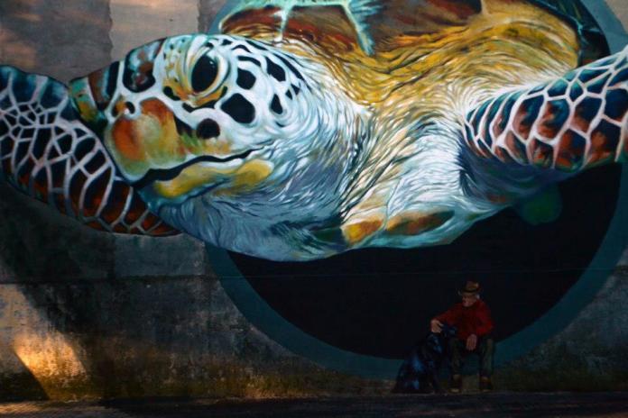 Street Art by Martin Ron in Las Vegas, USA 3