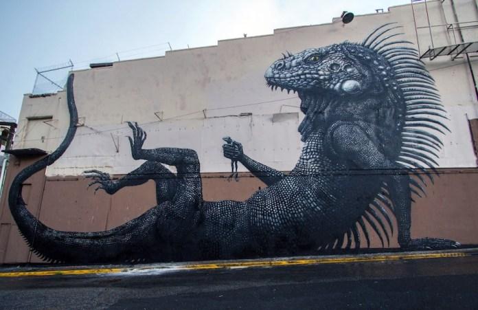 Street Art by ROA at Los Muros Hablan in San Juan, Puerto Rico 1