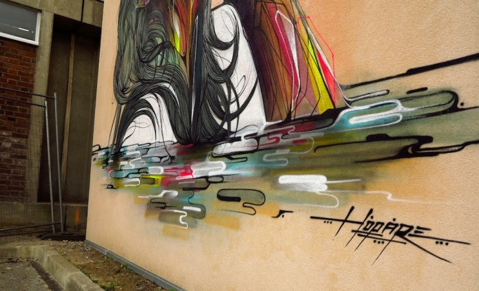 Street Art by Hopare in Orsay, France 6