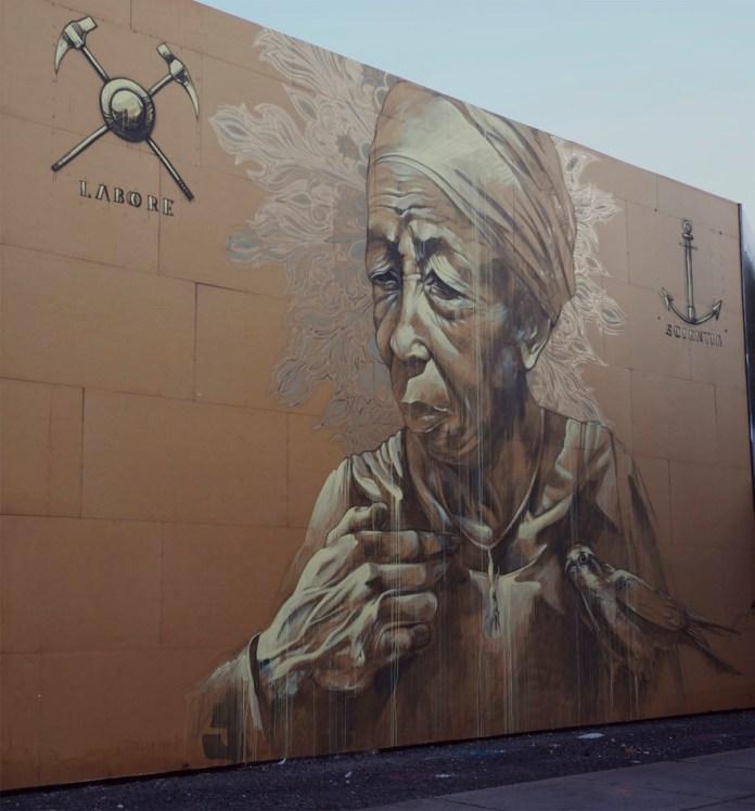 Street Art by faith47 in Montreal, Canada 1