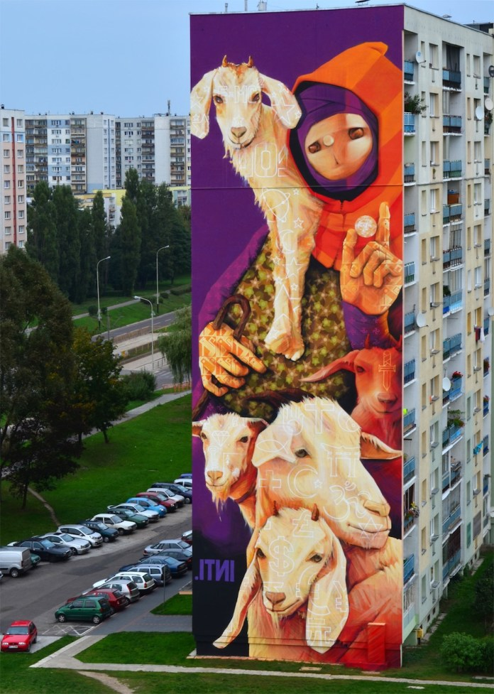 By INTI in Lodz, Poland at UrbanForms 2013 1 453