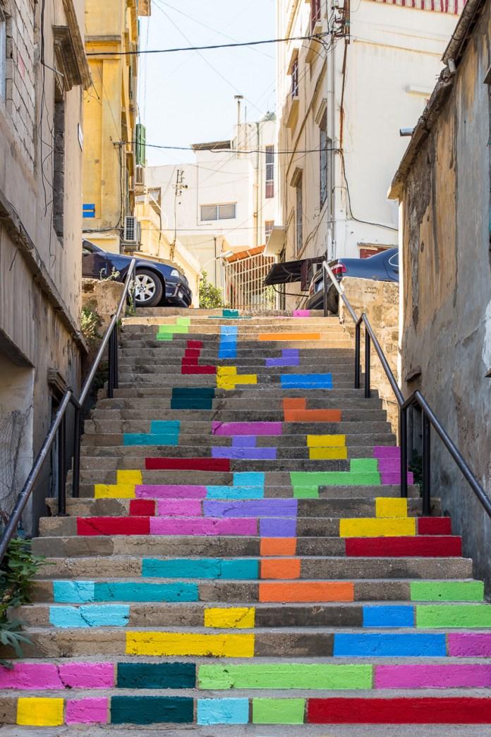Tetris Stares. By Dihzahyners in Lebanon 3