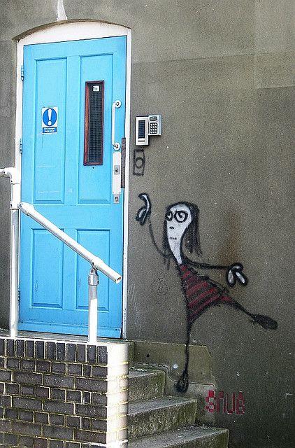 Street Art by Snub23 in Brighton, England