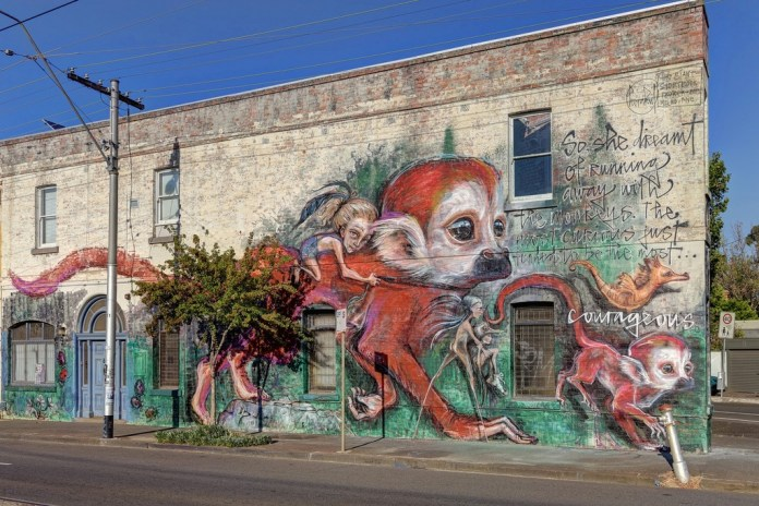 Street Art by Herakut in Melbourne, Australia 464