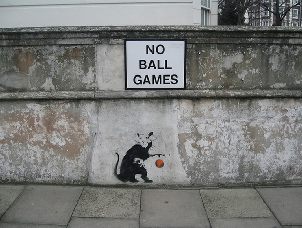 Street Art Collection - Banksy 41