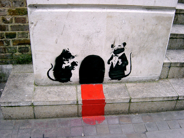 Street Art Collection - Banksy 70
