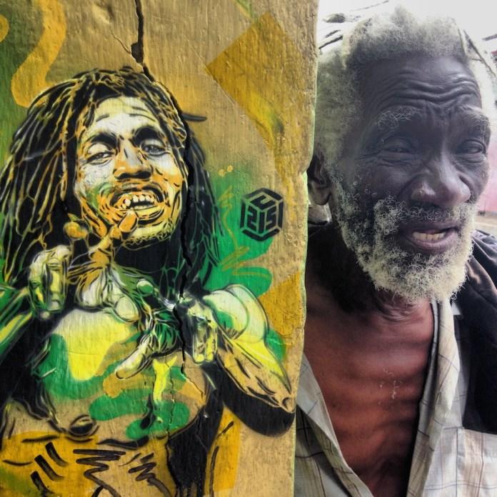 Street Art by C215 in Kingston, Jamaica 3