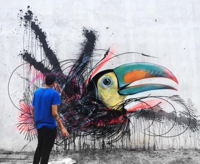 Street Art by L7m in Brazil