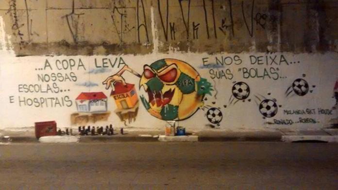 Street Art FIFA World Cup in Rio de Janeiro, Brazil 5456435774