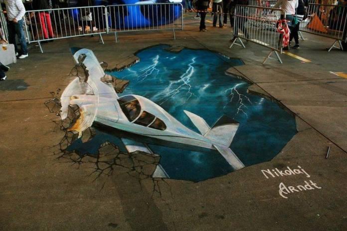 3D Street Art by Nikolaj Arndt 3