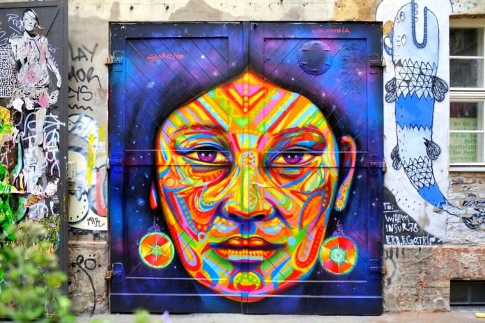 Street Art by Guashe in Berlin, Germany 8678567