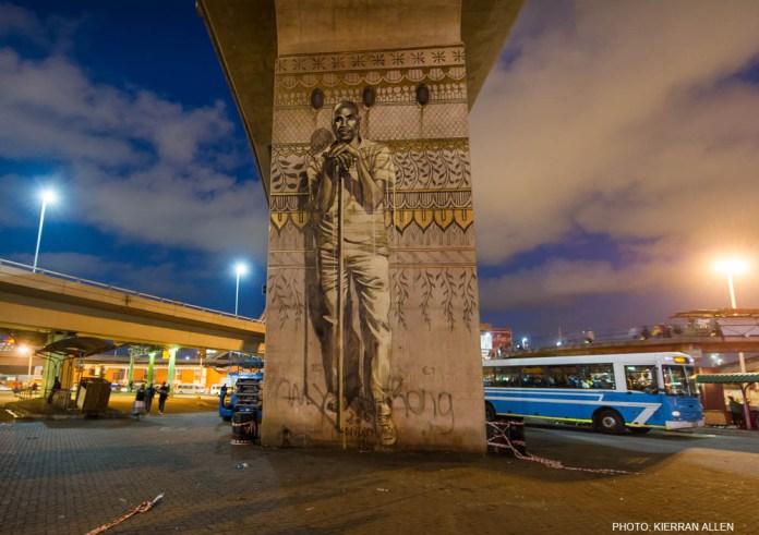 Street Art by Fait47 in Durban, South Africa 2