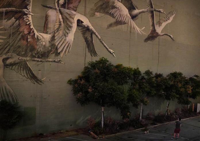 Street Art by Faith 47 in Los Angeles, USA 1
