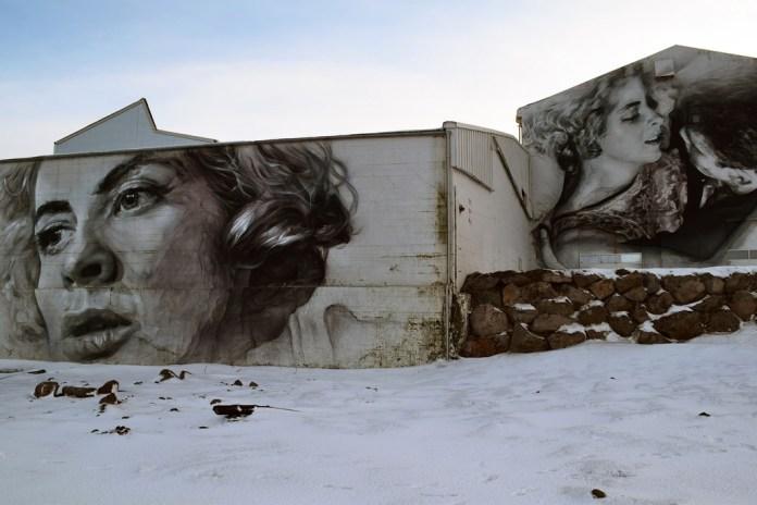 Street Art in Reykjavík, Island 2