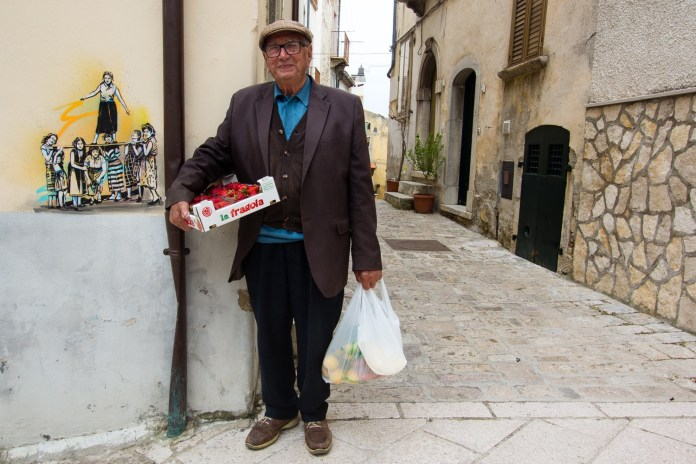 Street Art by Alice Pasquini in Civitacampomarano, Molise, Italy. Photo by Jessica Stewart 5