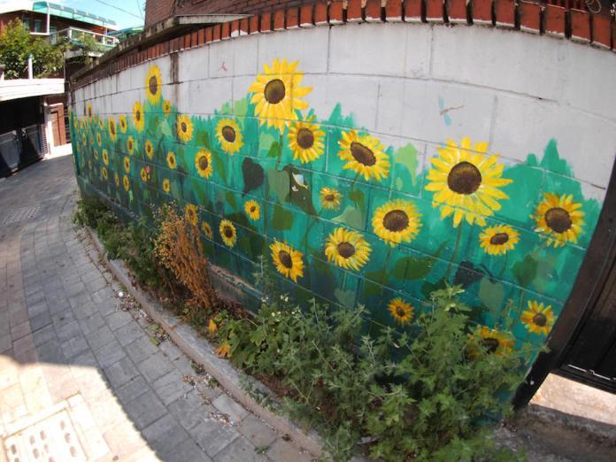 Street Art fromSeoul Area, South Korea. Photo byMark Johnson36