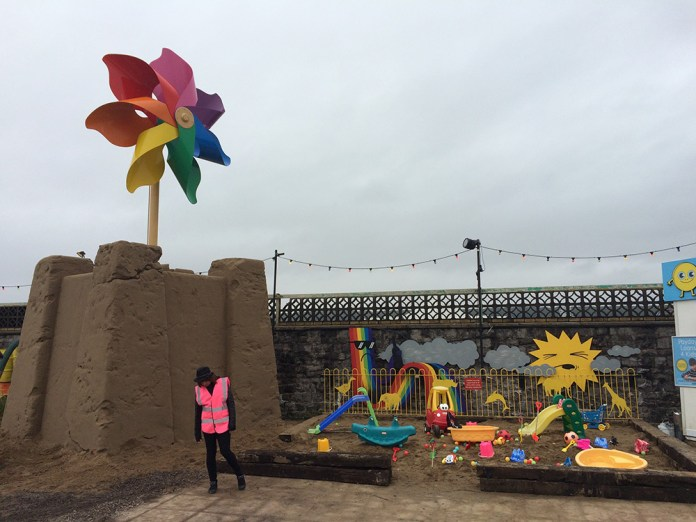 Street Art by Banksy and other artists in London, England - Dismaland 10