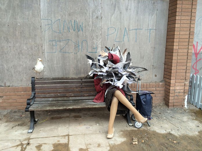 Street Art by Banksy and other artists in London, England - Dismaland 22